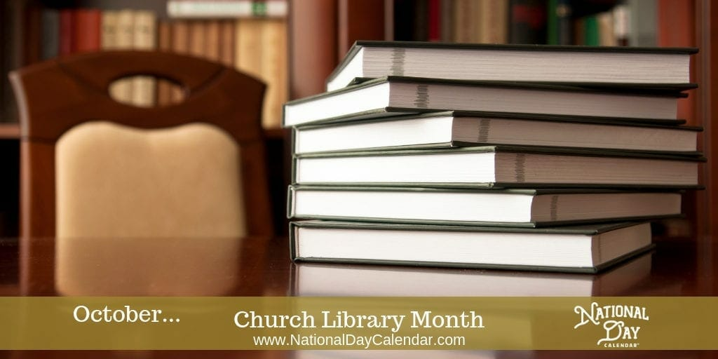 Church Library Month - October