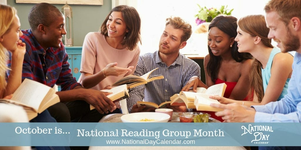 National Reading Group Month - October