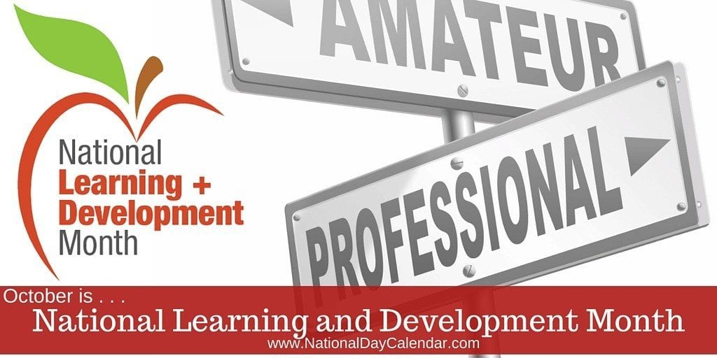 National Learning and Development Month - October