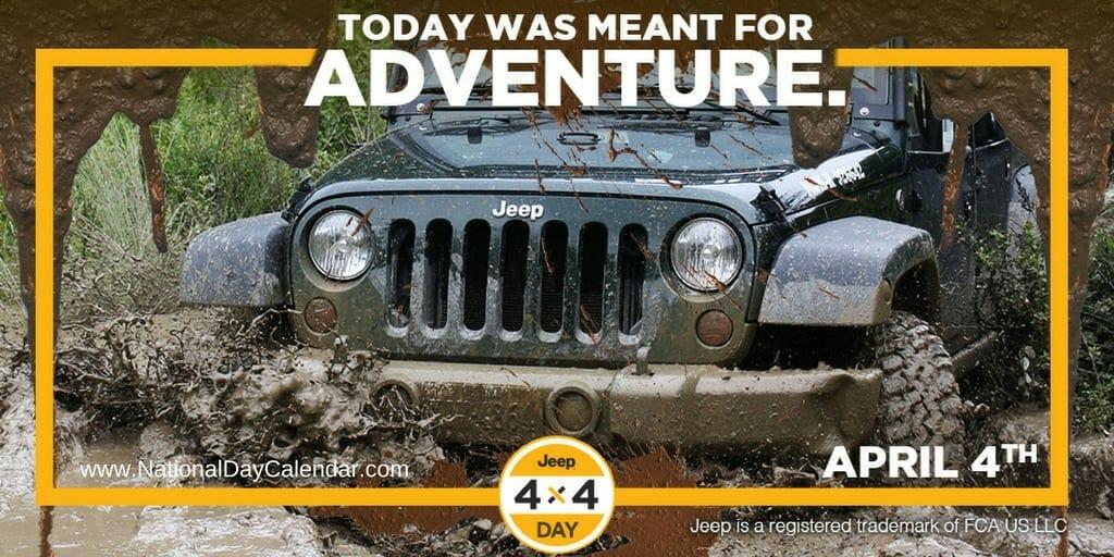 Jeep 4x4 Day - April 4