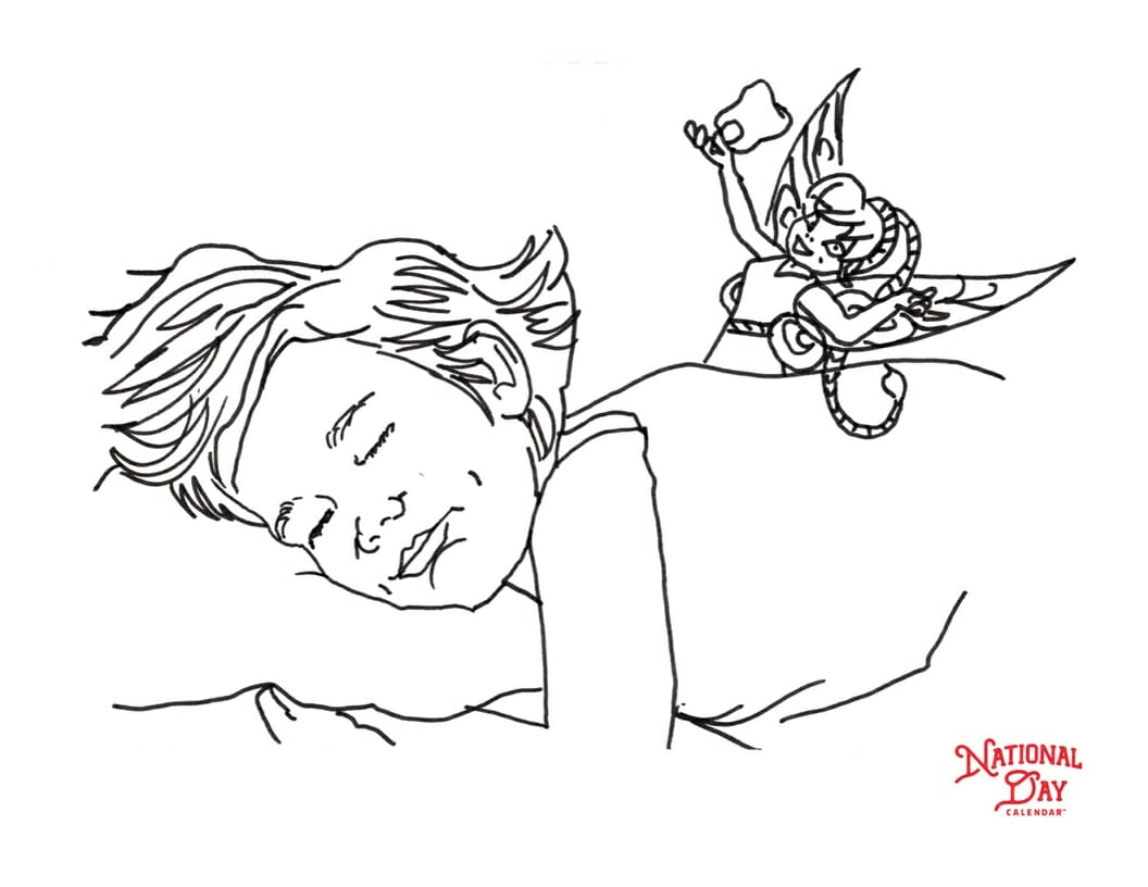 - Tooth Fairy Coloring Page - National Day Calendar