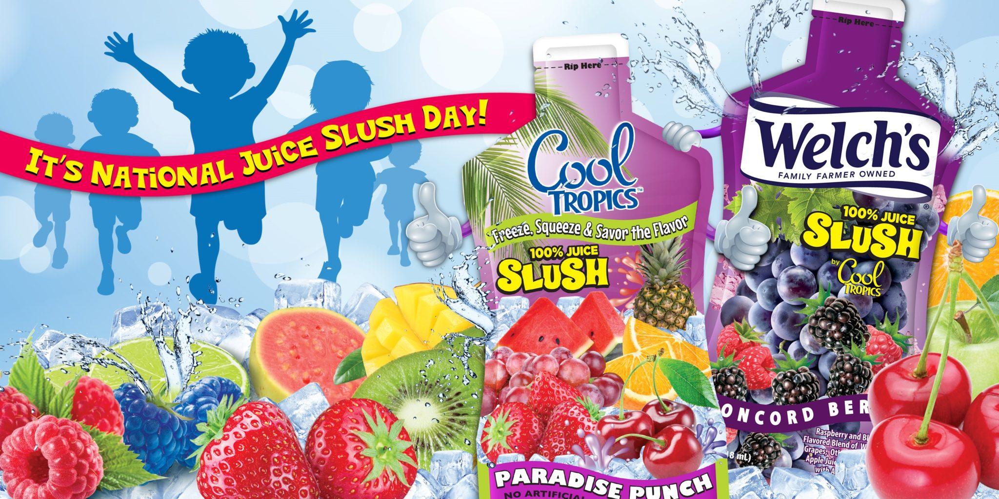 Cool Tropics National Juice Slush Day