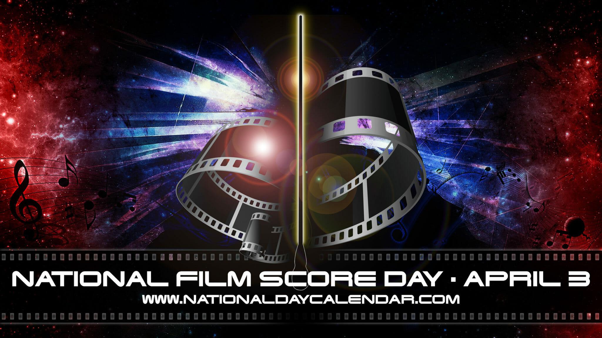 National Film Score Day Art