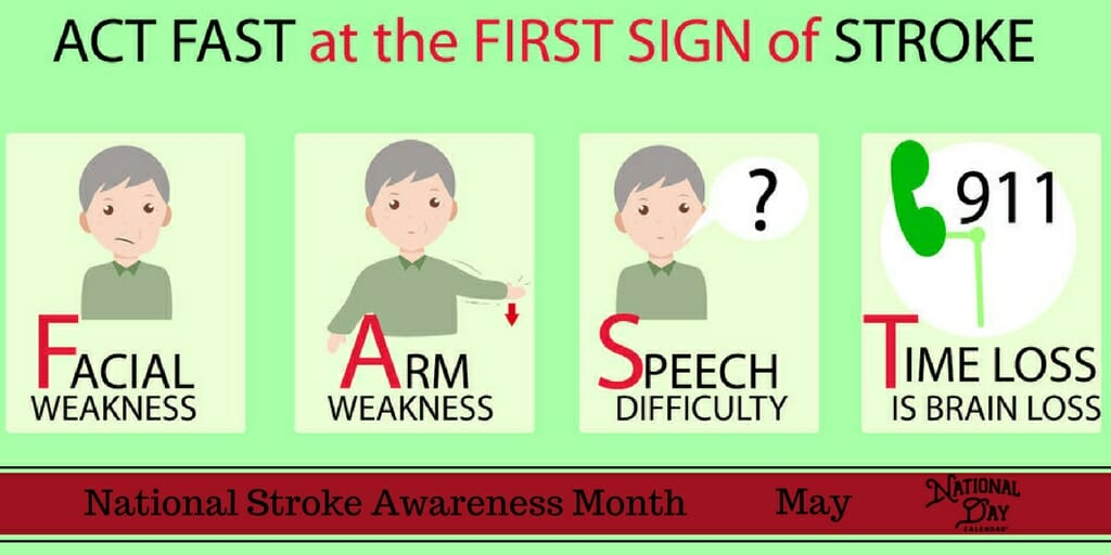 National Stroke Awareness Month - May