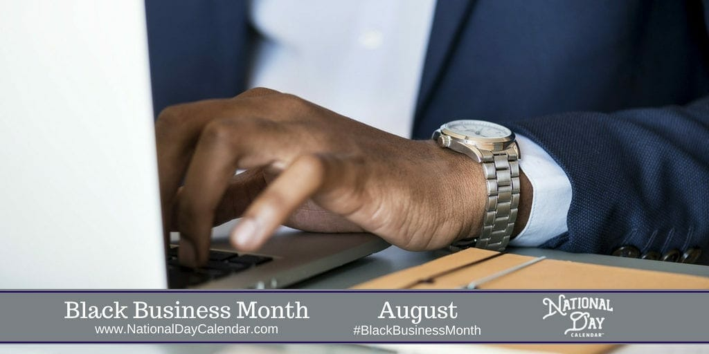Black Business Month - August