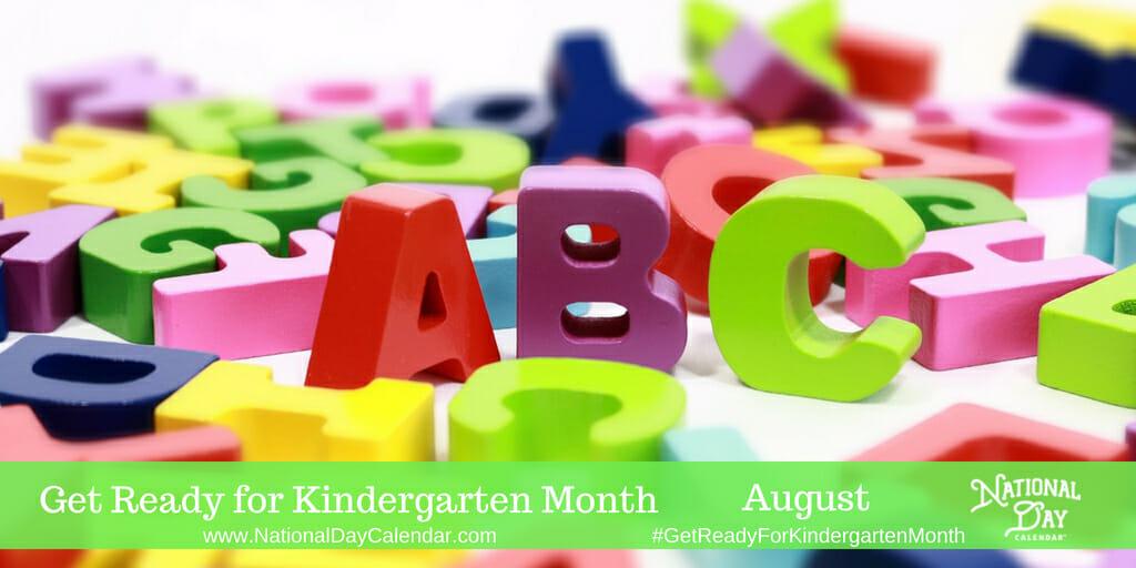 National Kindergarten Day - August