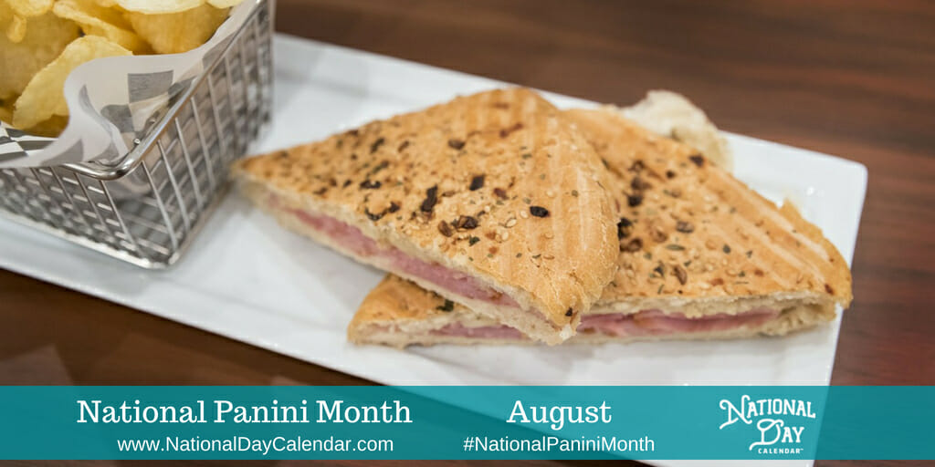 National Panini Month - August