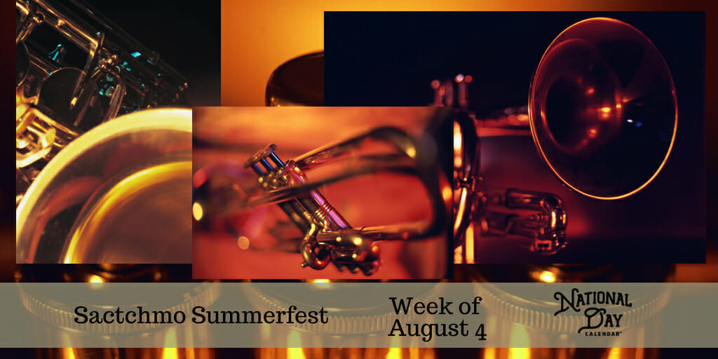 Sactchmo Summerfest - Week of August 4
