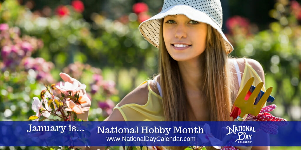 National Hobby Month - January