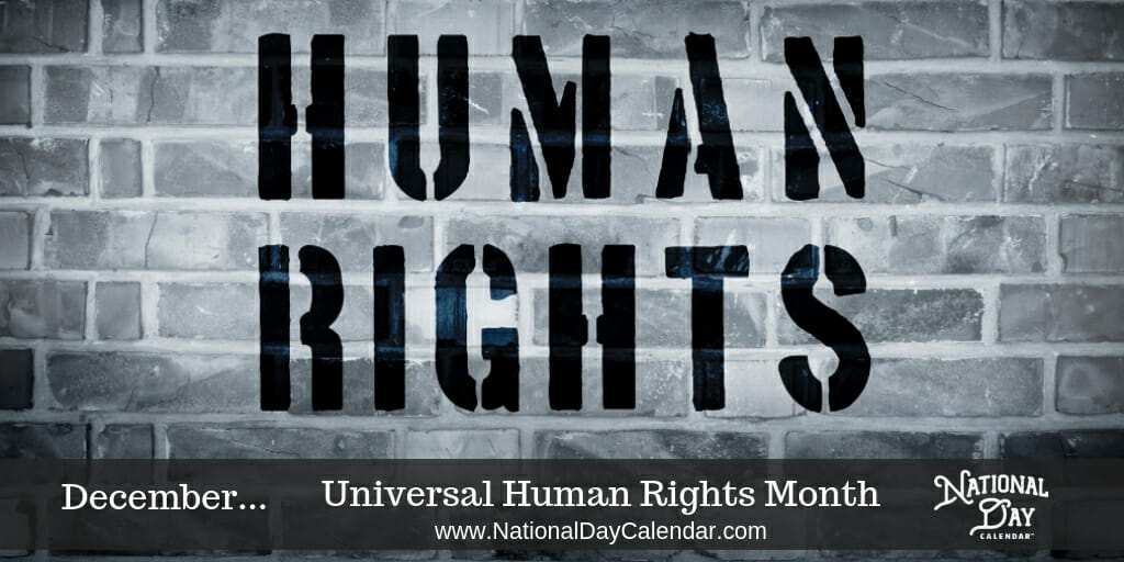 Universal Human Rights Month - December
