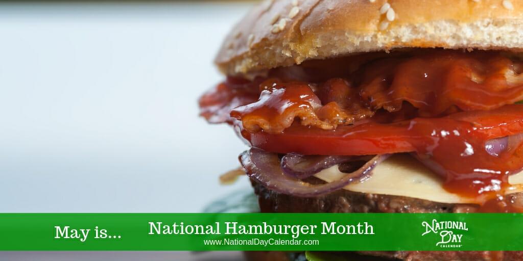 National Hamburger Month - May