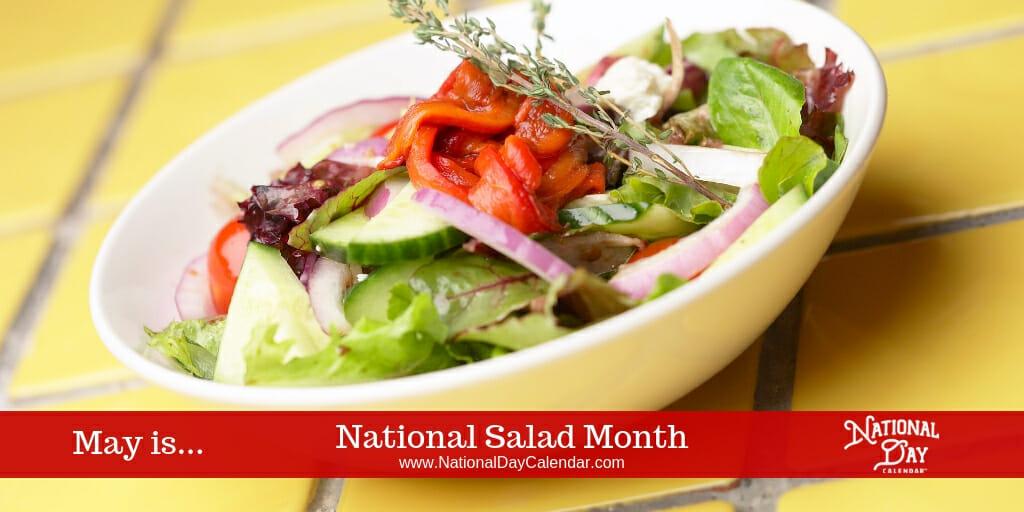 National Salad Month - May