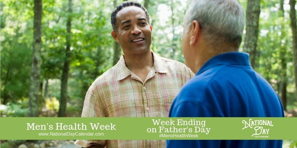 Men's Health Week - Week Ending on Father's Day