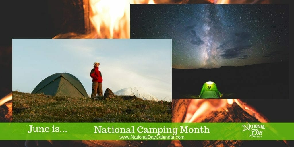 National Camping Month - June