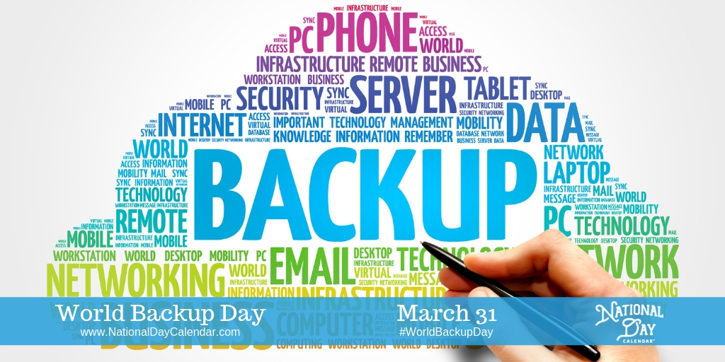 World Backup Day - March 31