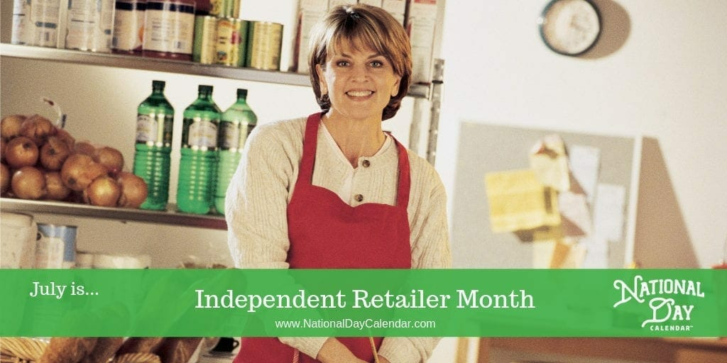Independent Retailer Month - July
