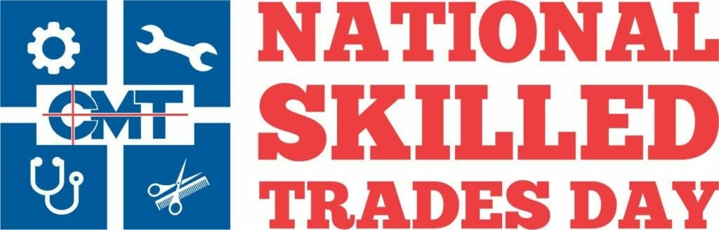National Skilled Trades Day logo with no year