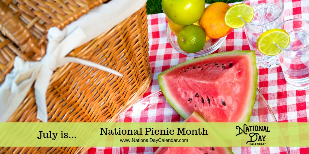 National Picnic Month - July