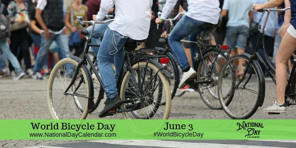 World Bicycle Day - June 3