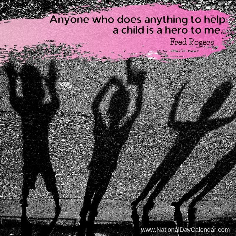 Child Quote Fred Rogers