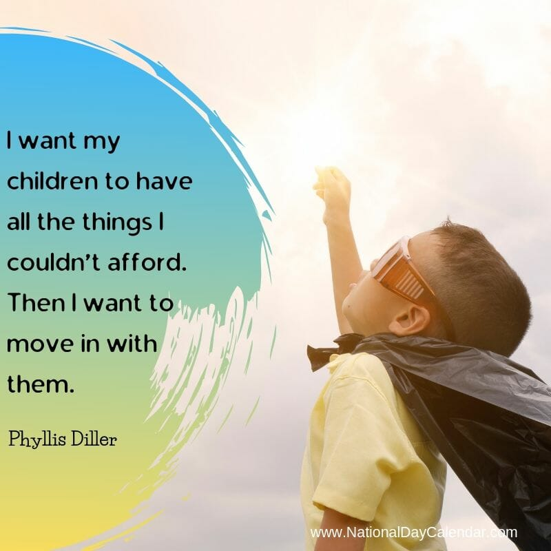 Child Quote Phyllis Diller