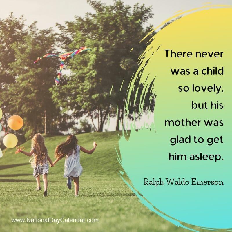Child Quote Ralph Waldo Emerson