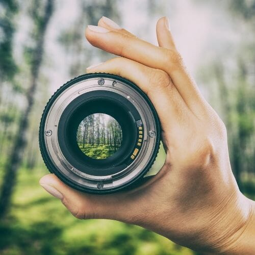 Get the most from your digital camera - clean lens