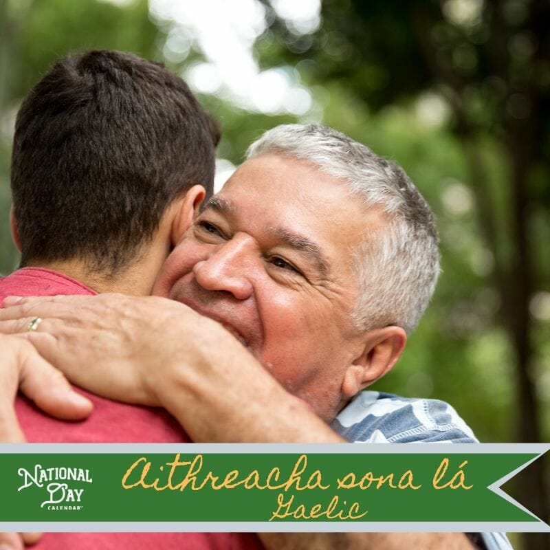 Happy Father's Day - Gaelic