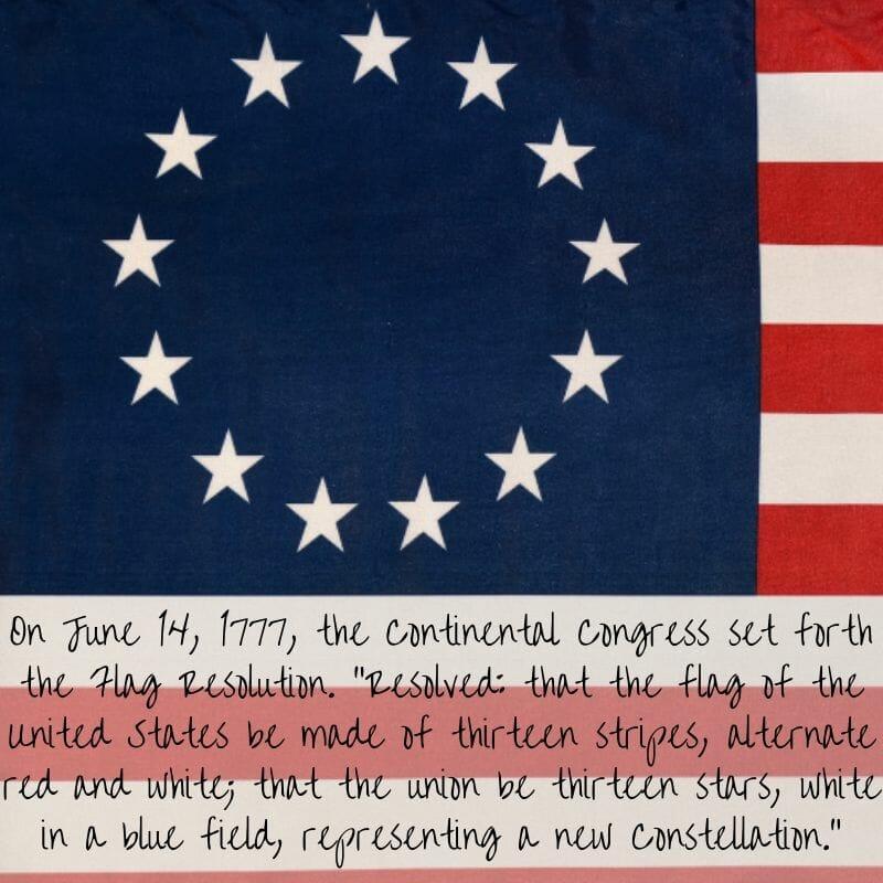 June 14, 1777 Continental Congress