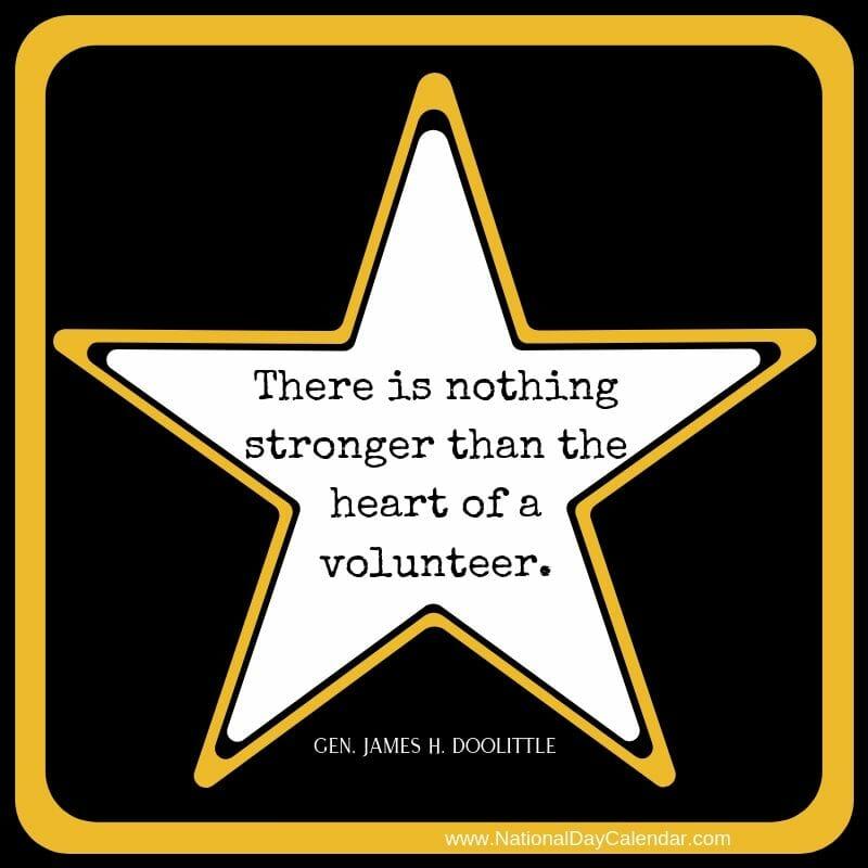 Heart of a volunteer