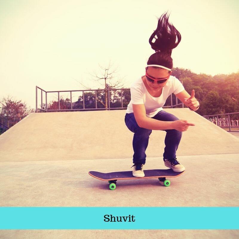 Skateboarding - Shuvit