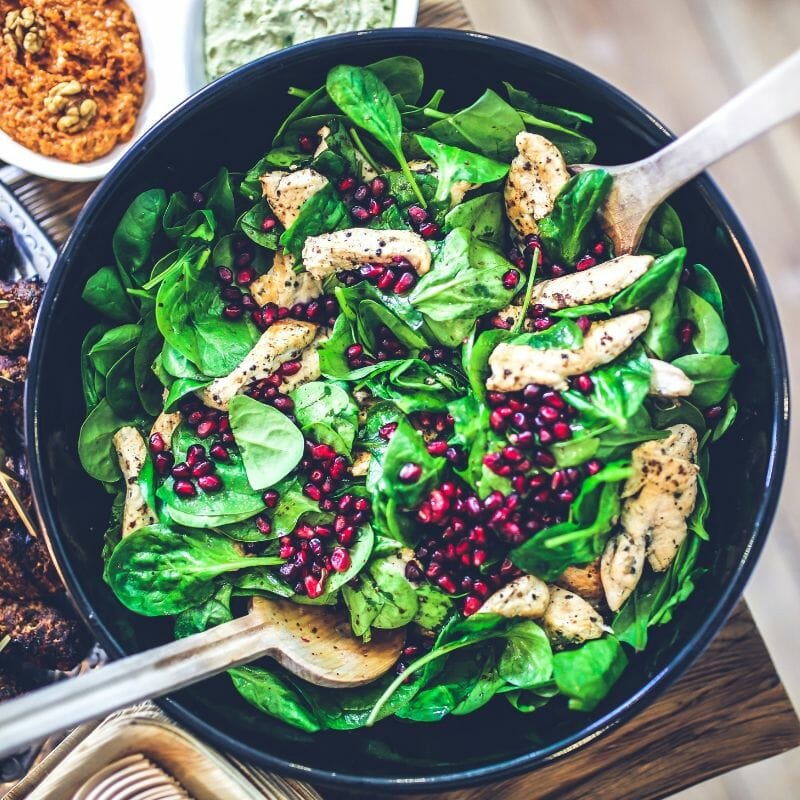 more exciting salads with fruit, nuts, seeds