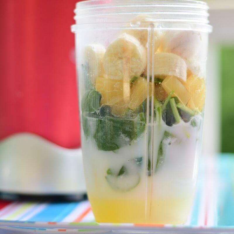 veggie smoothie spinach