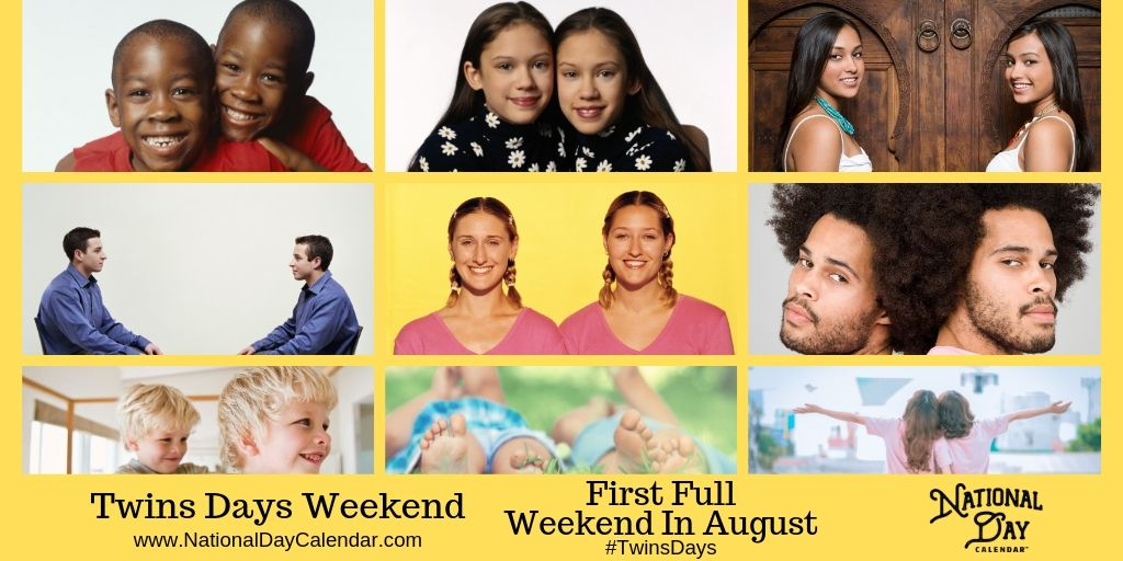 Twins Days Weekend - First Full Weekend in August