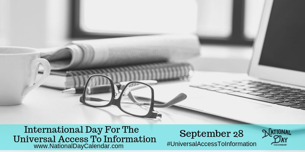 International Day for the Universal Access to Information