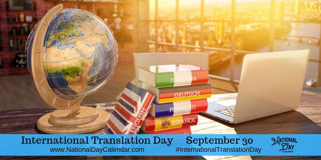 International Translation Day - September 30