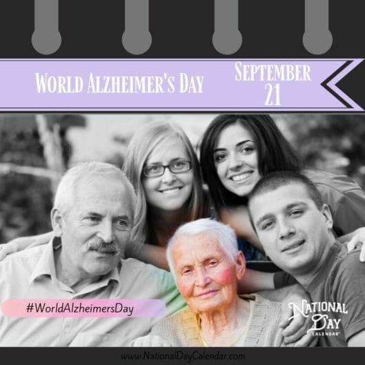 World Alzheimer's Day - September 21