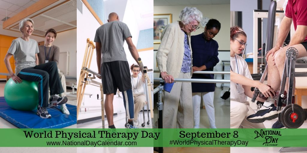 World Physical Therapy Day - September 8