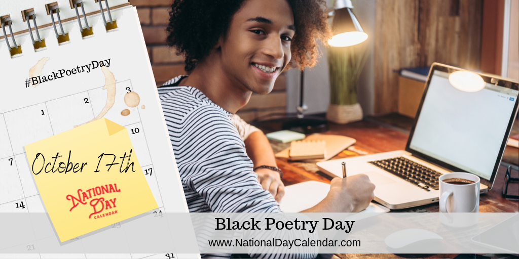 BLACK POETRY DAY – October 17