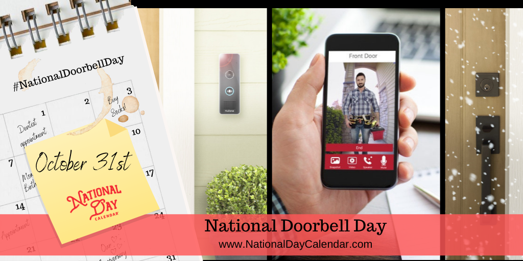 NATIONAL DOORBELL DAY – October 31