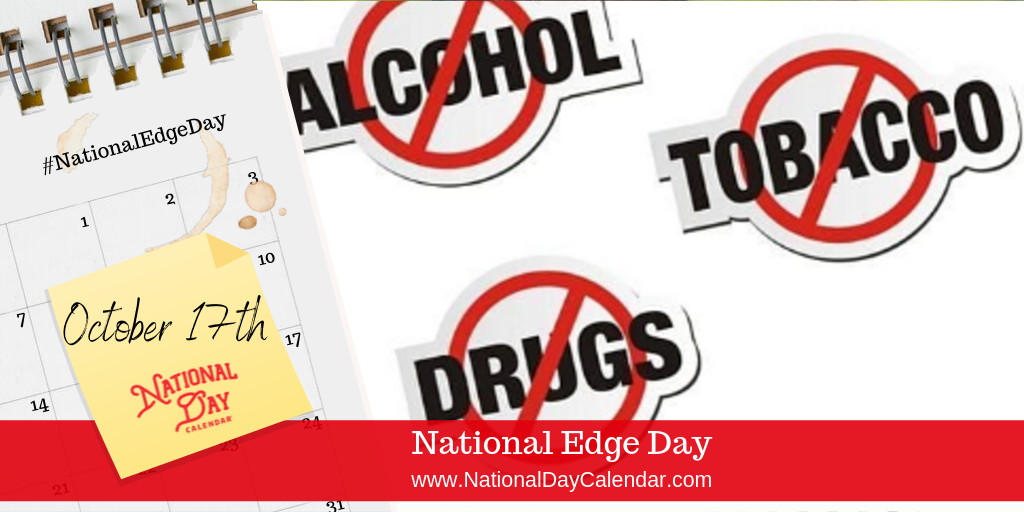 NATIONAL EDGE DAY – October 17