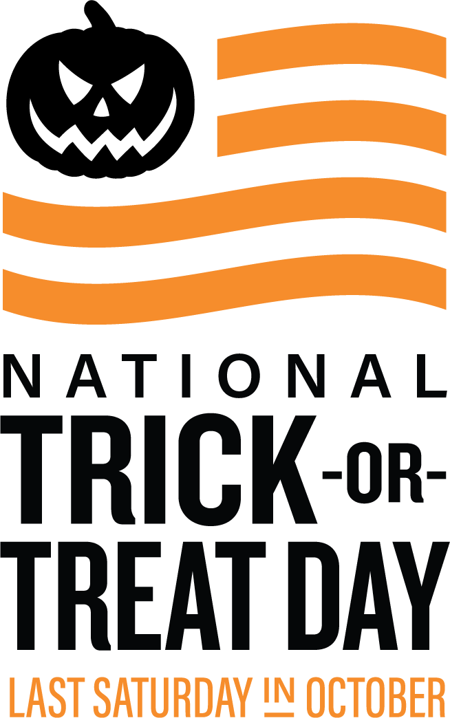 National Trick or treat day logo