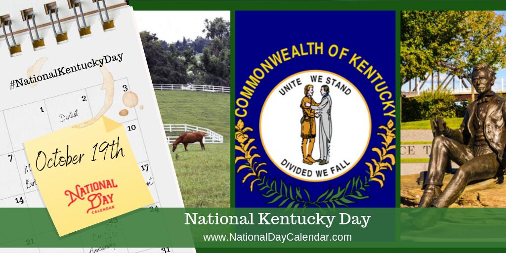 National Kentucky Day - October 19