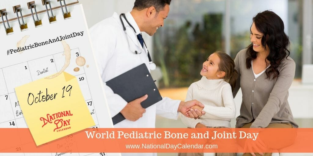World Pediatric Bone and Joint Day - October 19