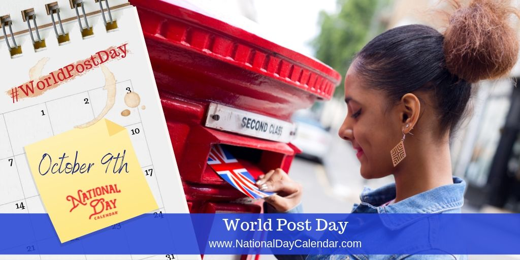 World Post Day - October 9