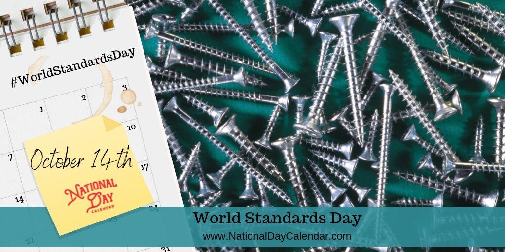 World Standards Day - October 14