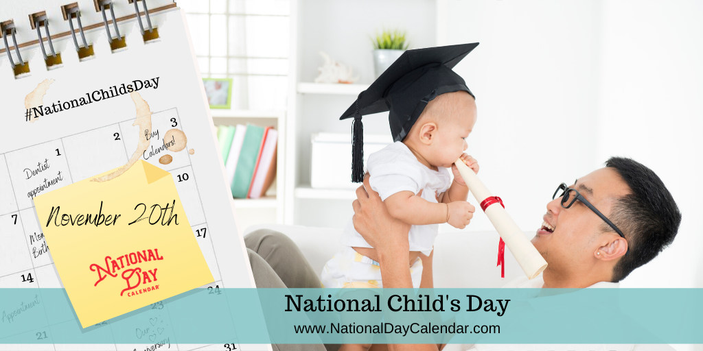 National Child's Day - November 20, 2019