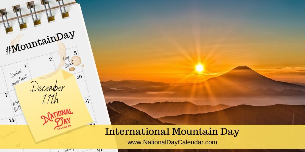 International Mountain Day - December 11
