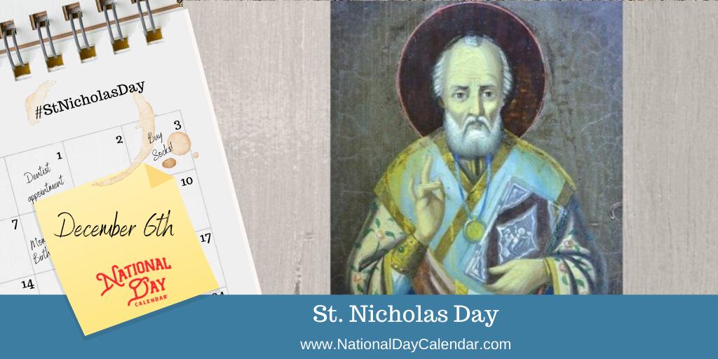 SAINT NICHOLAS DAY – December 6