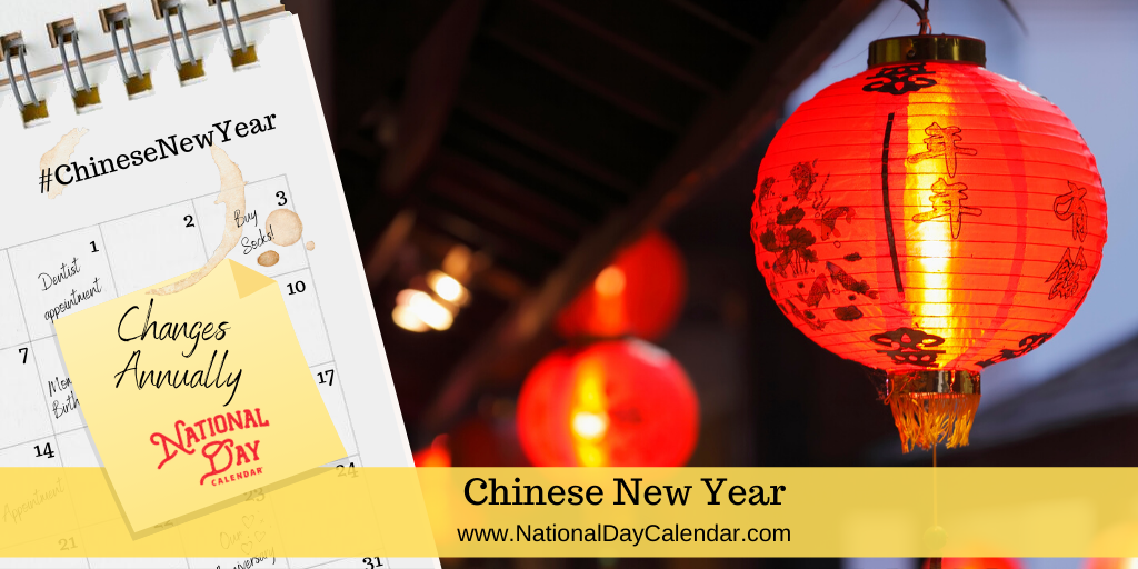 Chinese New Year - Changes Annually